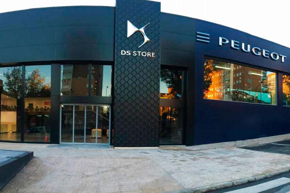 Trabajos de mejora en las instalaciones interiores de PSA Retail