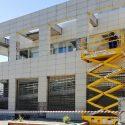 Rehabilitación de fachada en el Centro de Mayores Los Cármenes