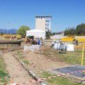 Trabajos de acondicionamiento en EDAR El Endrinal