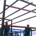 Construcción de estructura metálica con función de almacén en ETAP Colmenar