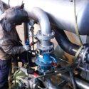 Trabajos de reparación de calderas en ETAP Torrelaguna