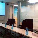 Trabajos de mantenimiento de espacios interiores en el Instituto de empresa