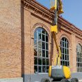 Reparación de cubierta en edificio del Canal de Isabel II