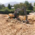 Fase de excavación