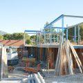 Construcción de muros y estructura