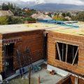 Construcción de muros y techo de la primera planta