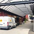 Mantenimiento de instalaciones en edificio de Mediaset