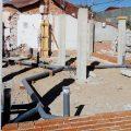 Fase de estructura de la nueva vivienda