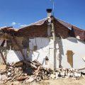Demolición de antigua vivienda
