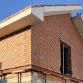 Construcción de muros y tejado