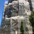 Rehabilitación de fachada del Depósito Elevado de Canal de Isabel II